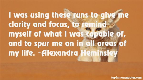 Alexandra Heminsley Quotes