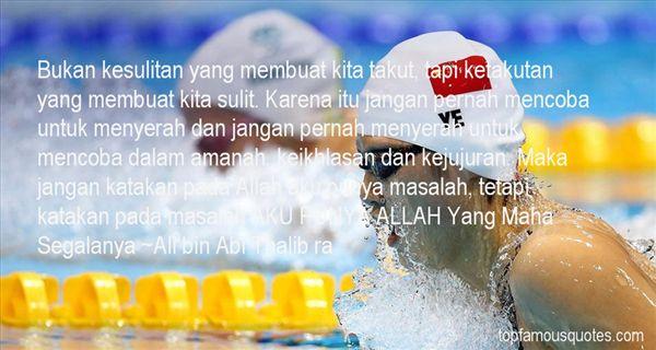 Ali Bin Abi Thalib Ra Quotes