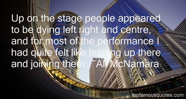 Ali McNamara Quotes