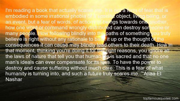 Aliaa El Nashar Quotes