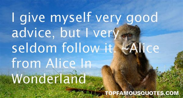 Alice From Alice In Wonderland Quotes
