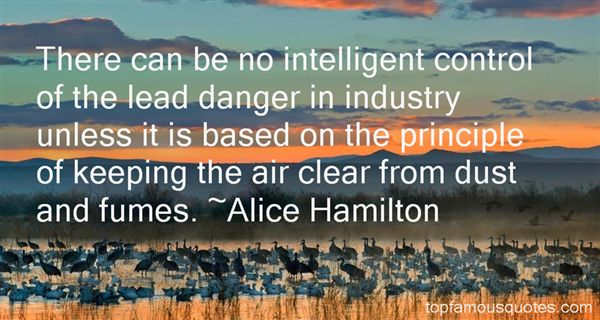Alice Hamilton Quotes