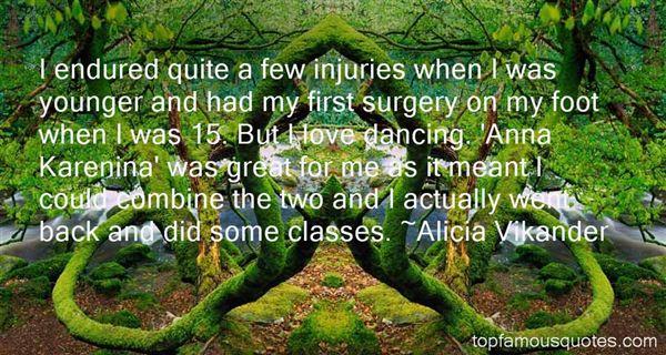 Alicia Vikander Quotes