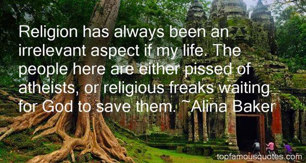 Alina Baker Quotes