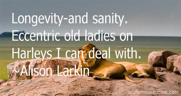 Alison Larkin Quotes