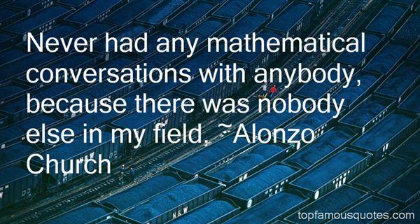 Alonzo Church Quotes