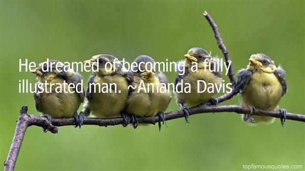Amanda Davis Quotes