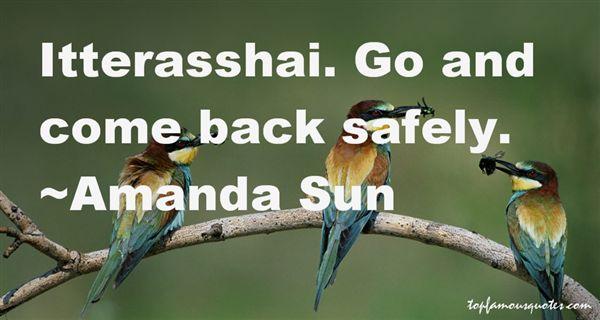 Amanda Sun Quotes