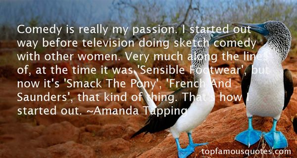 Amanda Tapping Quotes