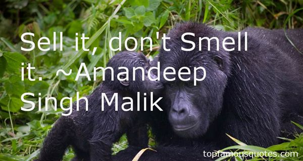 Amandeep Singh Malik Quotes