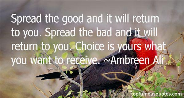 Ambreen Ali Quotes