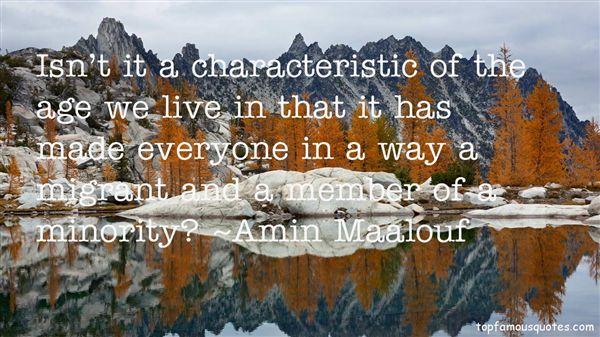 Amin Maalouf Quotes