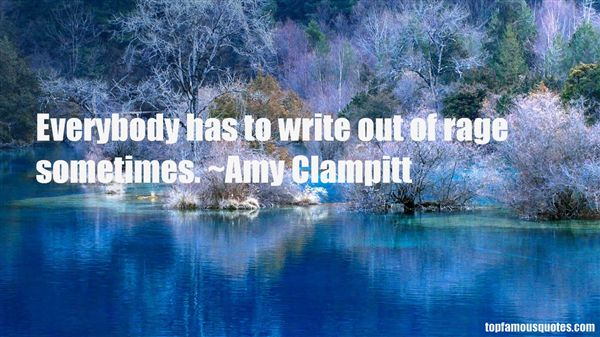 Amy Clampitt Quotes