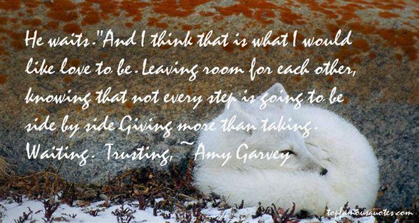 Amy Garvey Quotes