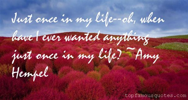 Amy Hempel Quotes