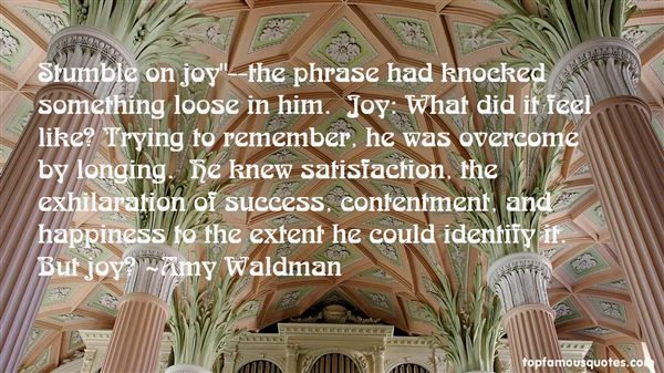Amy Waldman Quotes