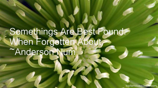 Anderson Num Quotes