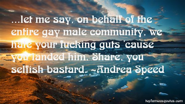 Andrea Speed Quotes