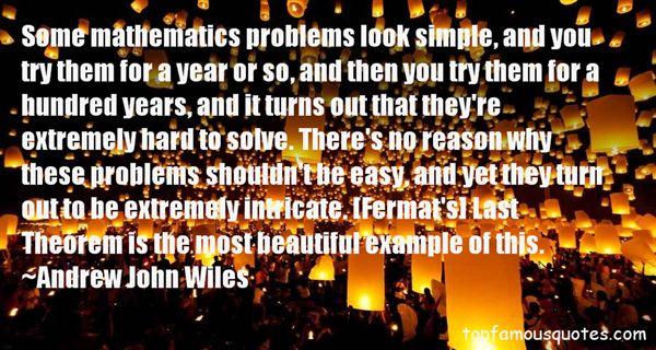 Andrew John Wiles Quotes