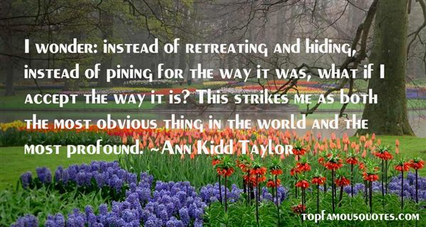 Ann Kidd Taylor Quotes
