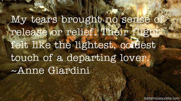 Anne Giardini Quotes
