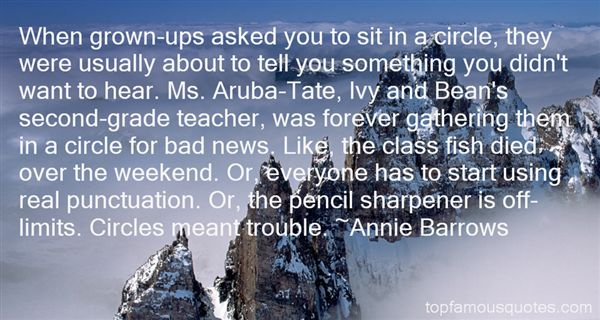 Annie Barrows Quotes