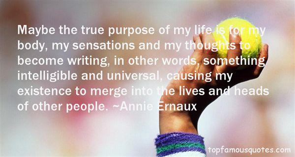 Annie Ernaux Quotes