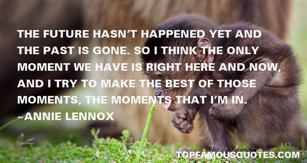 Annie Lennox Quotes