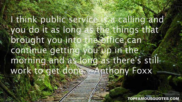 Anthony Foxx Quotes
