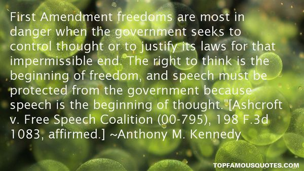Anthony M. Kennedy Quotes