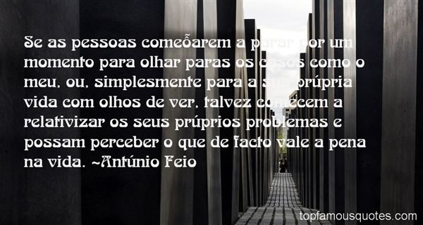 António Feio Quotes