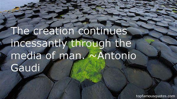 Antonio Gaudi Quotes