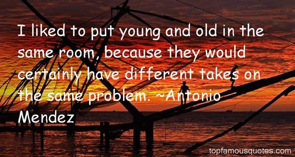 Antonio Mendez Quotes