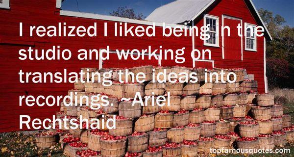 Ariel Rechtshaid Quotes