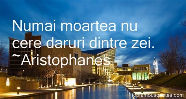 Aristophanes Quotes