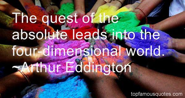 Arthur Eddington Quotes