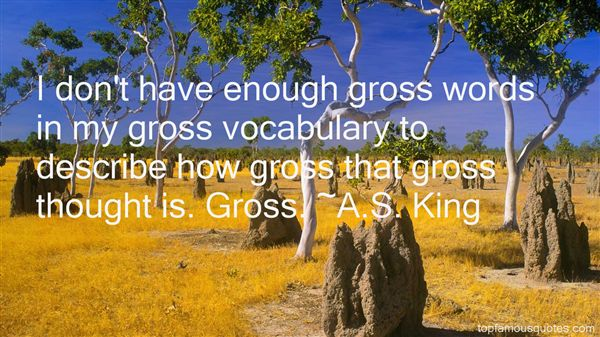 A.S. King Quotes