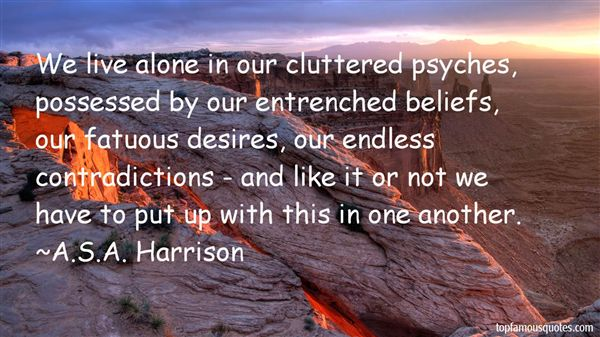 A.S.A. Harrison Quotes