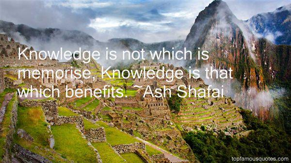 Ash Shafai Quotes