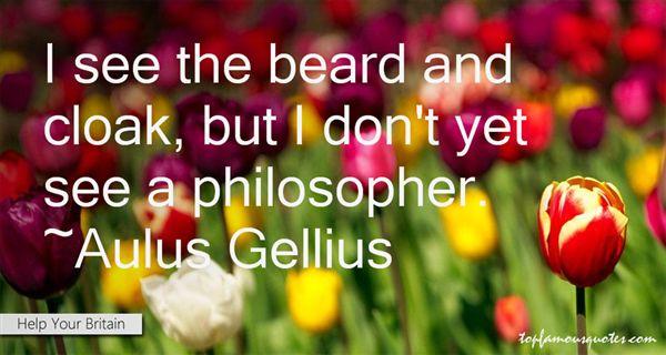 Aulus Gellius Quotes