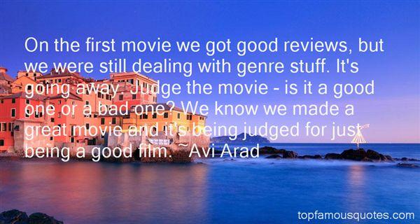Avi Arad Quotes