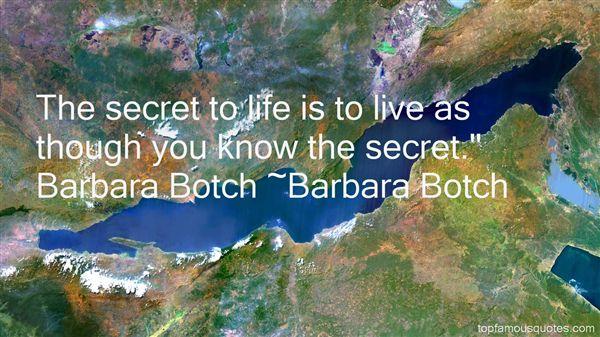 Barbara Botch Quotes