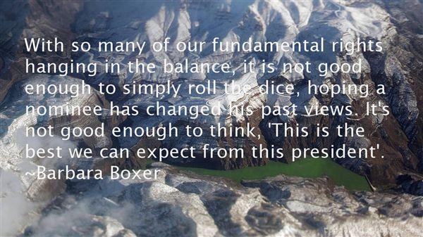 Barbara Boxer Quotes
