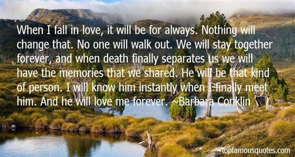 Barbara Conklin Quotes