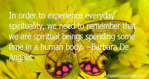 Barbara De Angelis Quotes