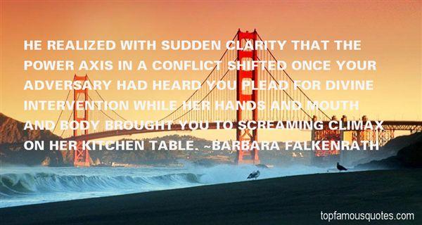 Barbara Falkenrath Quotes