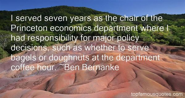 Ben Bernanke Quotes