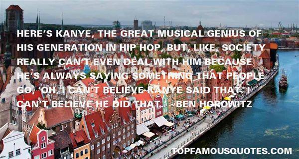 Ben Horowitz Quotes
