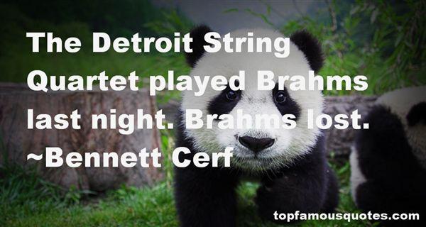 Bennett Cerf Quotes