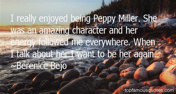 Berenice Bejo Quotes